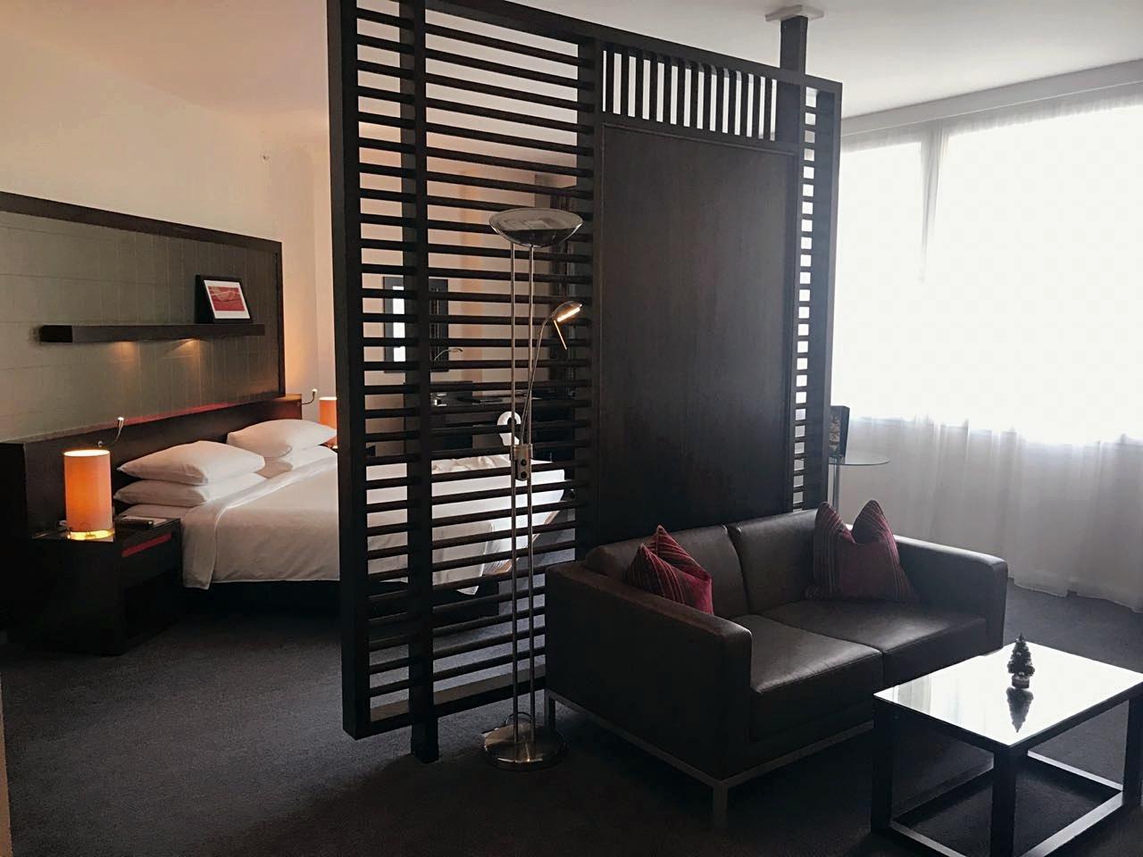 Inside Pra's suite!