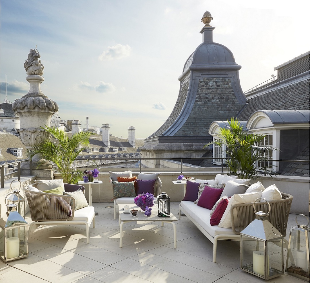 The Penthouse terrace (you can see why it's often used for photoshoots!) (photo supplied)