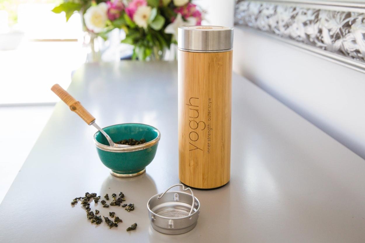 Yoguh - Bamboo Insulated Bottle