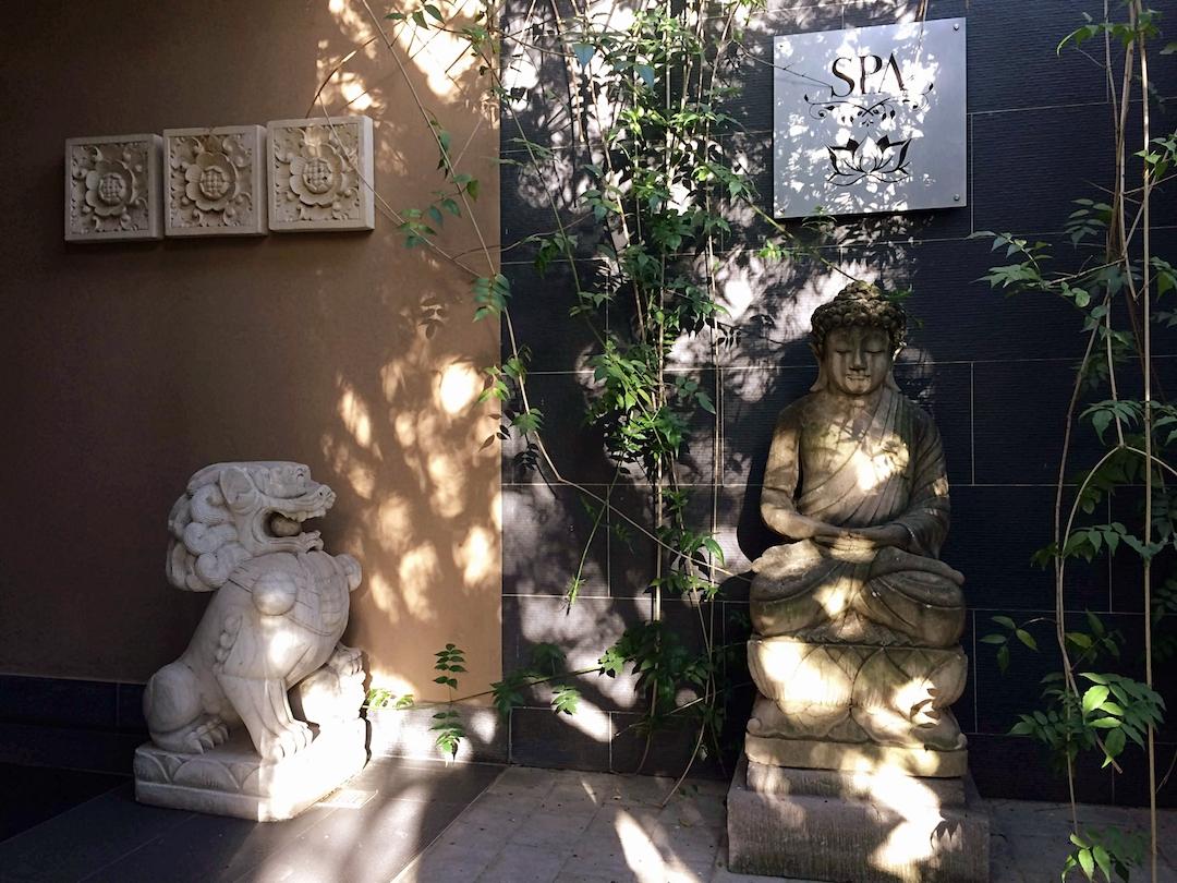 Your entrance to sanctuary