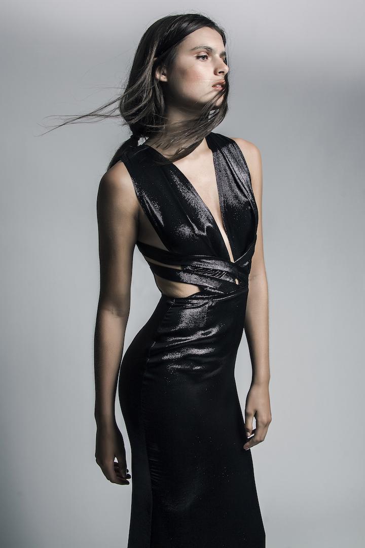 Genoveva Christoff black dress.jpg