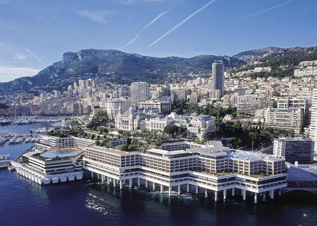 The impressive Fairmont Monte Carlo  (photo supplied)