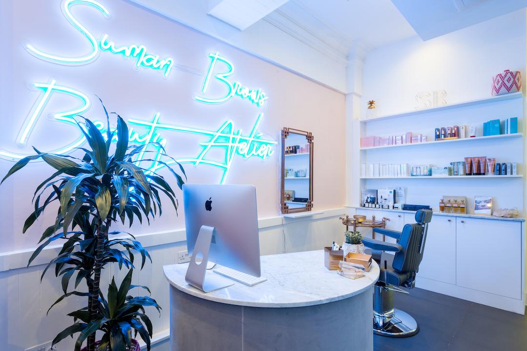 Inside SumanBrows London Beauty Atelier  (photo supplied)