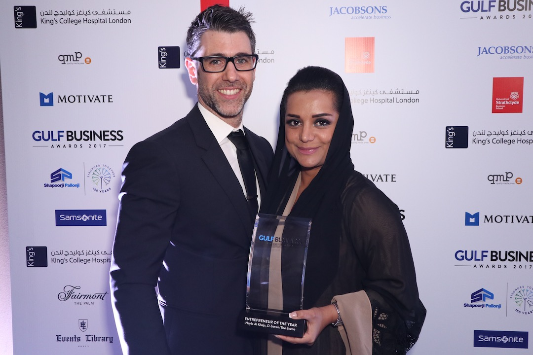 Nayla with her Swiss husband Christian Peter  (photo supplied)