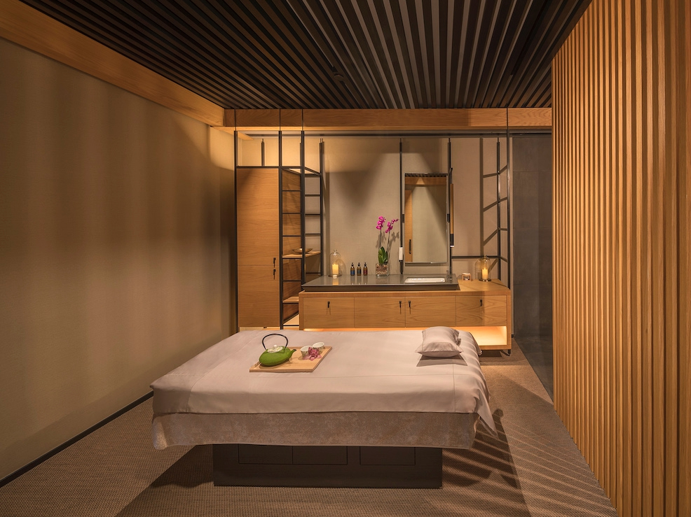 Modern minimalism inside a single treatment room.  (photo supplied)