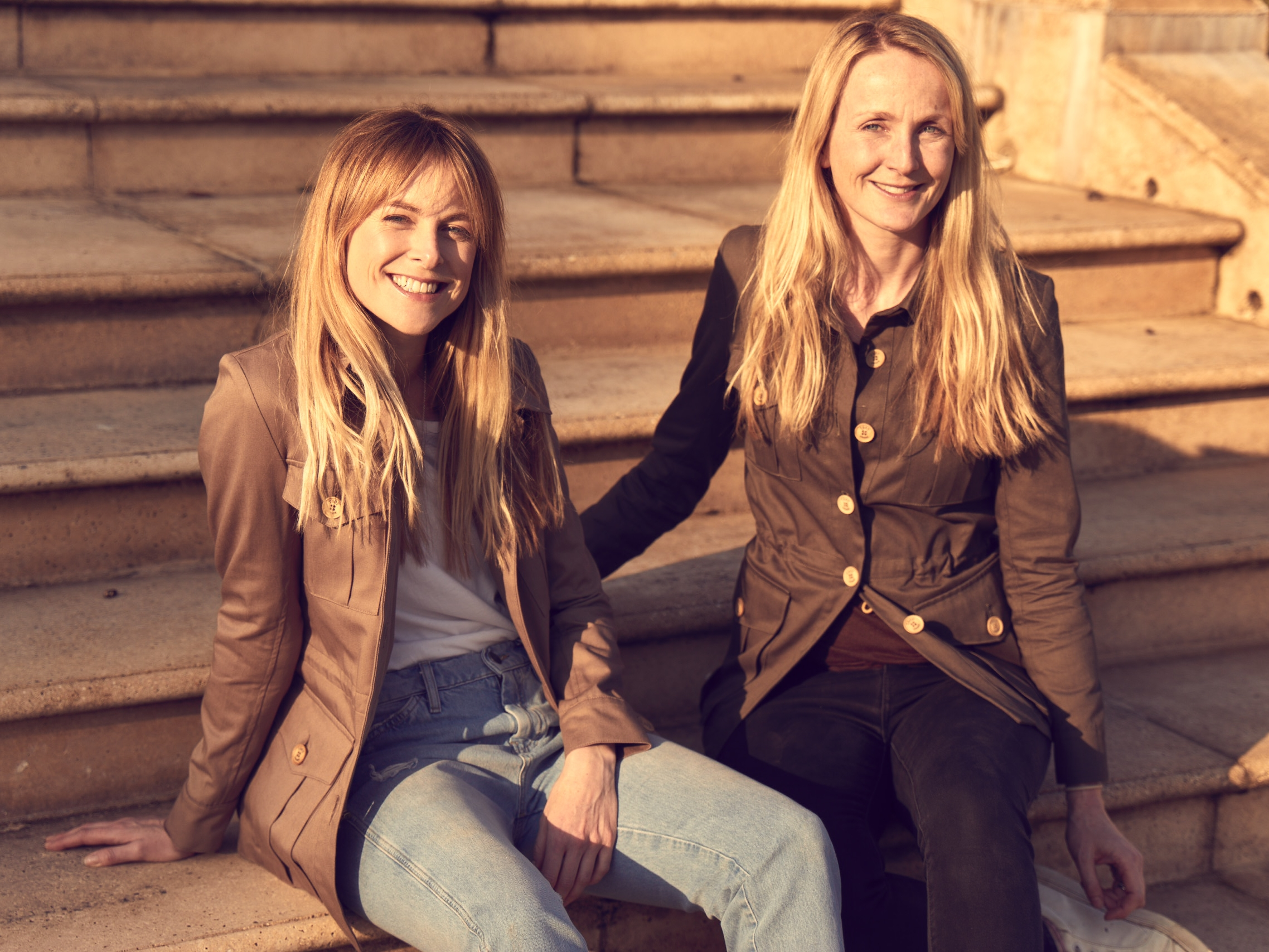 Sisters and TROY co-founders Lucia Ruck Keene (L) and Rosie Van Cutsem (R)  (photo supplied)