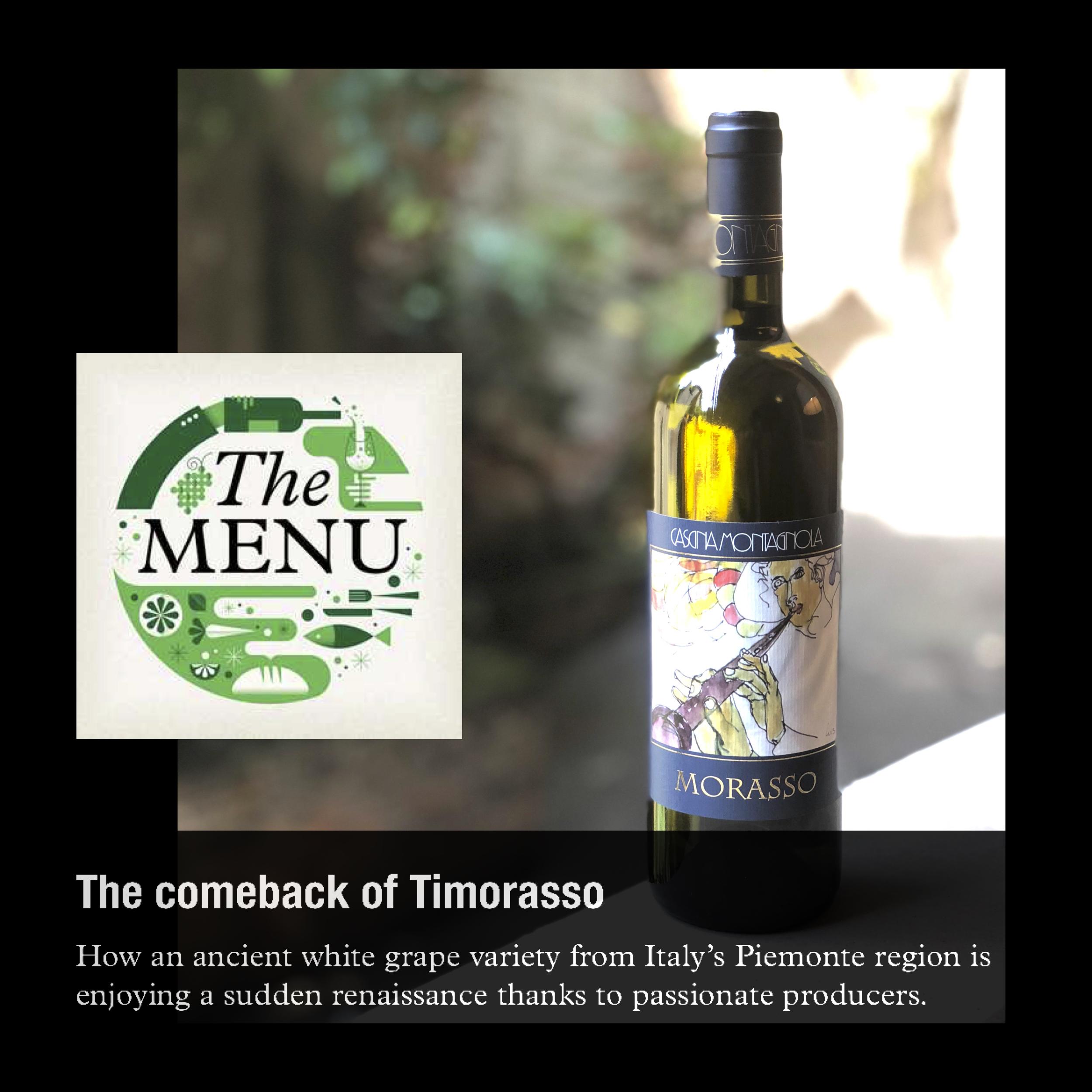 Morasso on Monocle24 The Menu #wineforutah