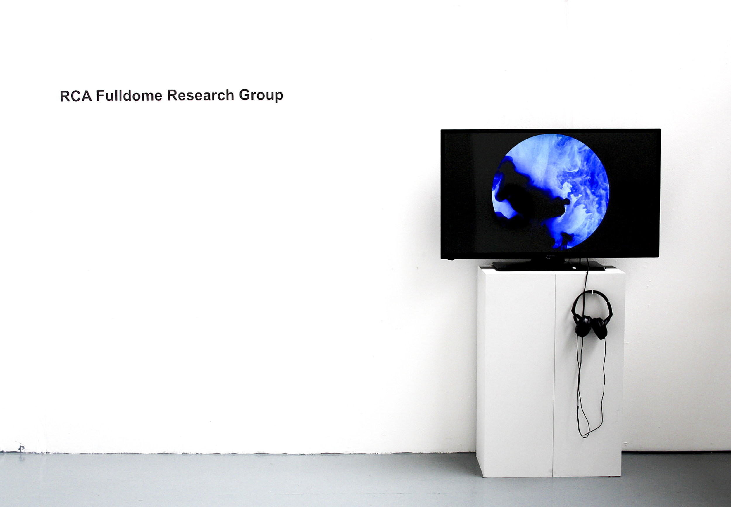 Fulldome Research Group Artist Residency Sidney Cooper Gallery, Canterbury July - August 2016