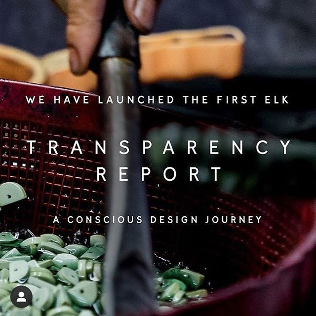 I am excited to share a project (non-ceramic) that I have been working on this year at ELK. This is a major milestone for the company and I am proud to have worked alongside some extremely inspiring and passionate woman to help bring it to life. The continuing journey for greater transparency, high environmental standards and social sustainability is something close to my heart. Check it out @elkthelabel to see more.