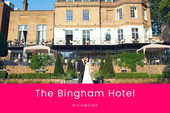 Venues - The Bingham Hotel, RichmondThe Petersham Hotel, RichmondPembroke Lodge, RichmondGrove House, RoehamptonHampton Court PalaceHampton Court HouseKew Gardens, Kew
