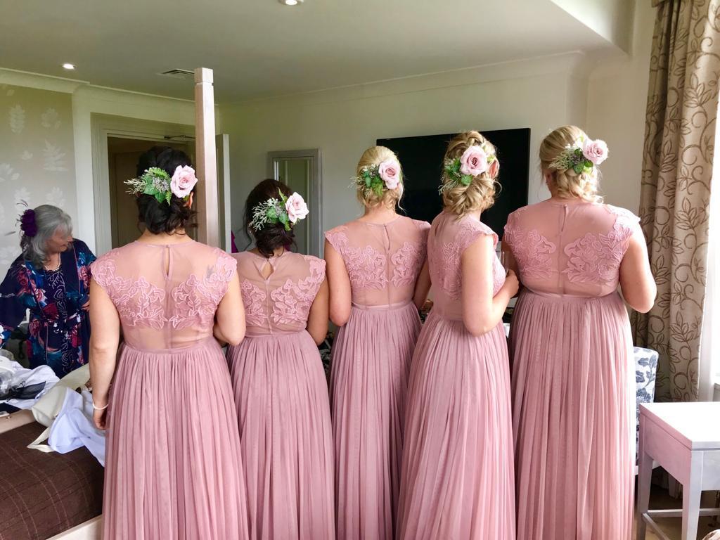 bridesmaid hair makeup east sheen