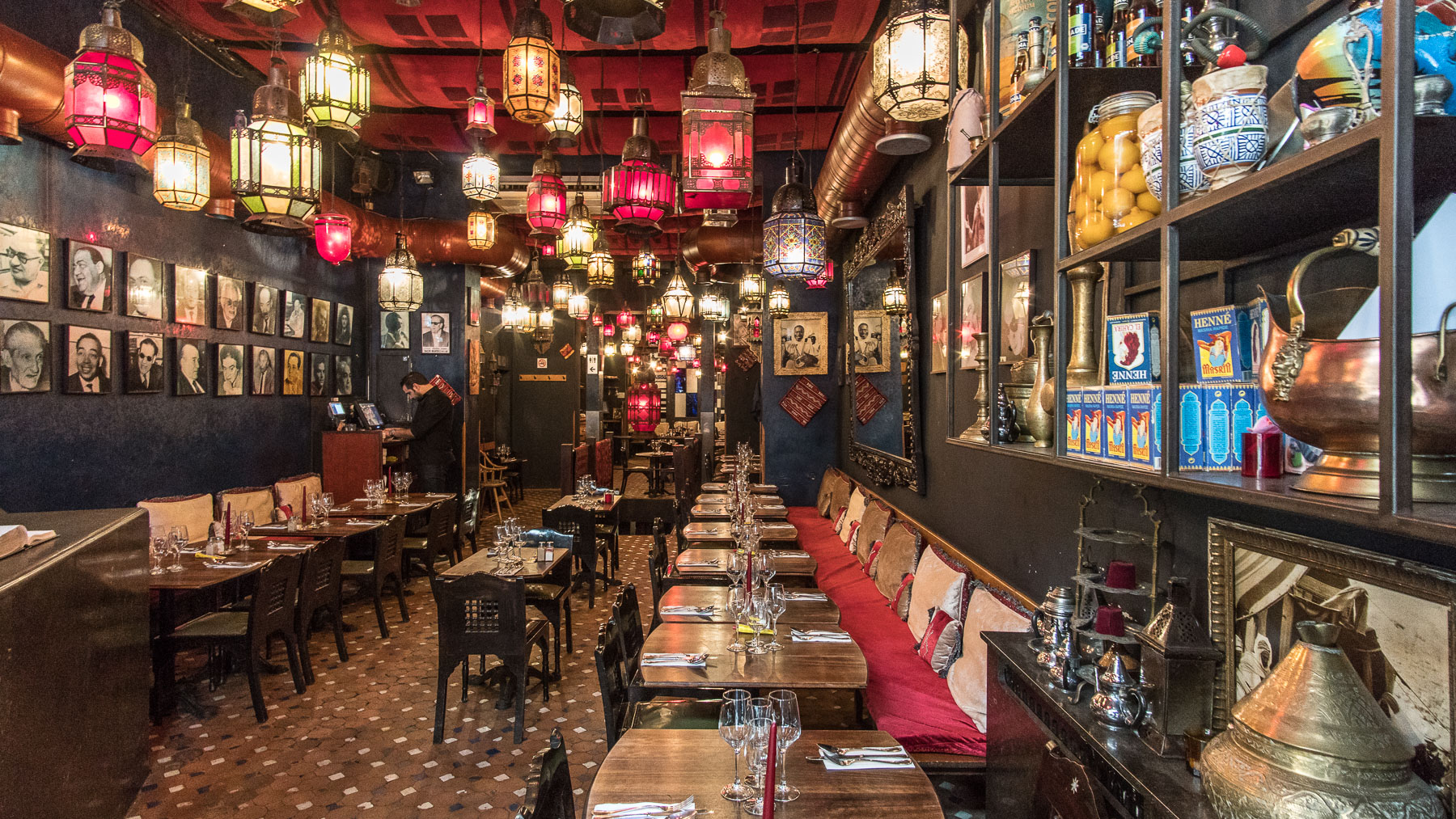 Moroccan Restaurant  / Brussels, Belgium