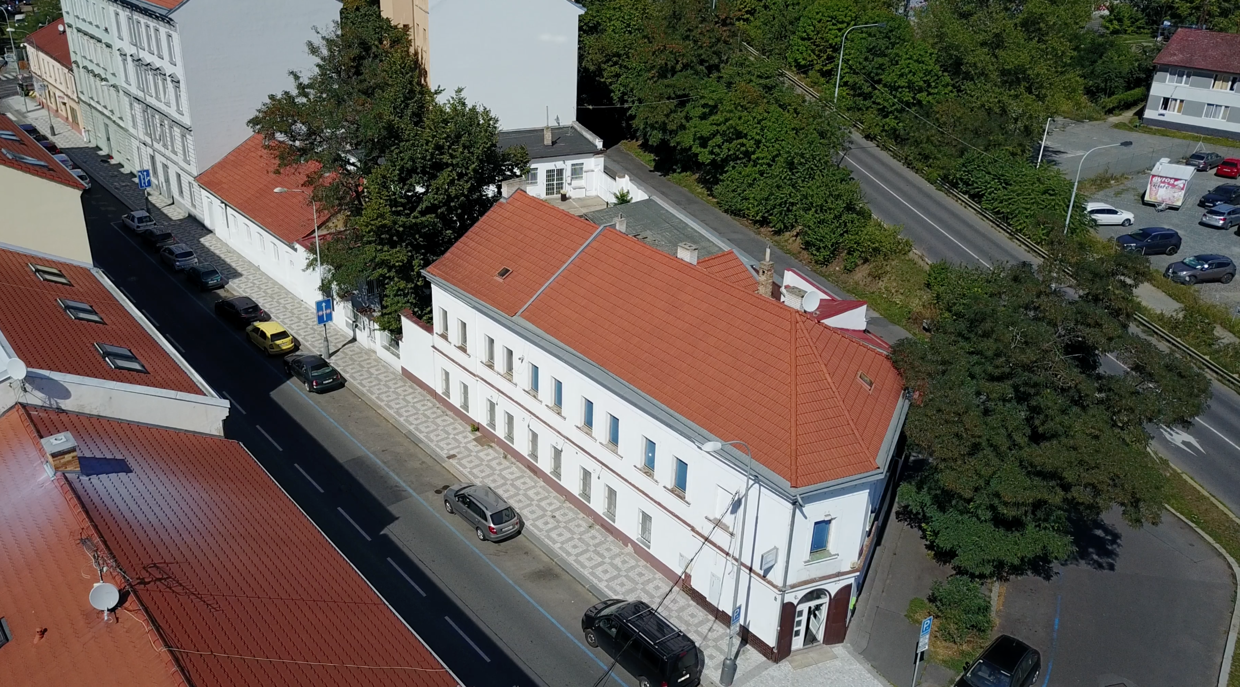 PIFA's spacious facility located in beautiful Prague 7.