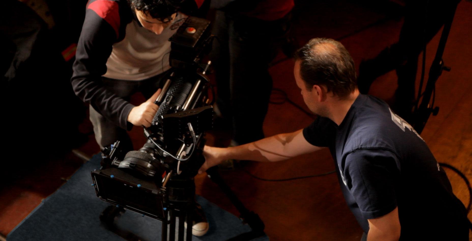 Shooting a short film in Prague