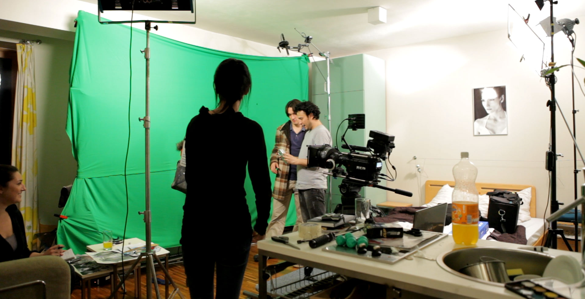 Filming on green screen with the Red Camera