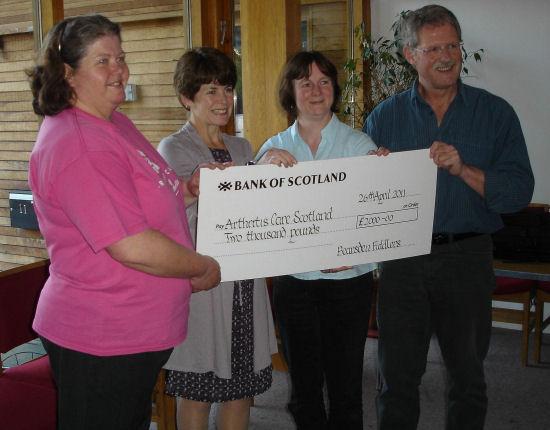 2011-04-26 BF cheque presentation to Arthritis Care small.JPG