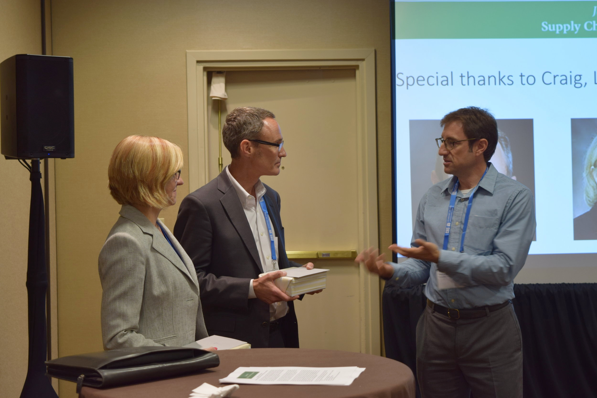 Thanking the previous editors Professor Craig Carter and Professor Lisa Ellram
