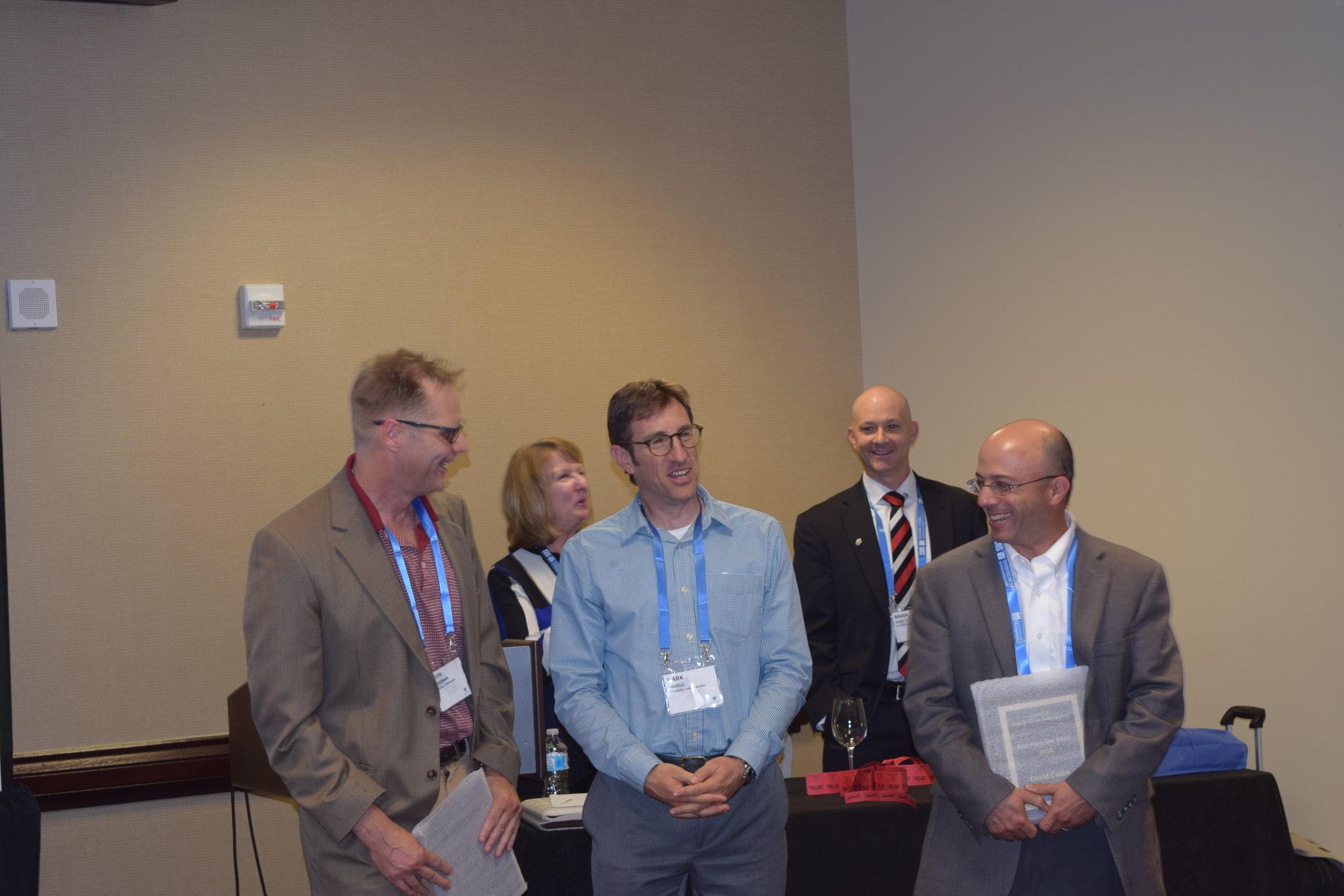 Professor Kevin Linderman and Professor David Cantor