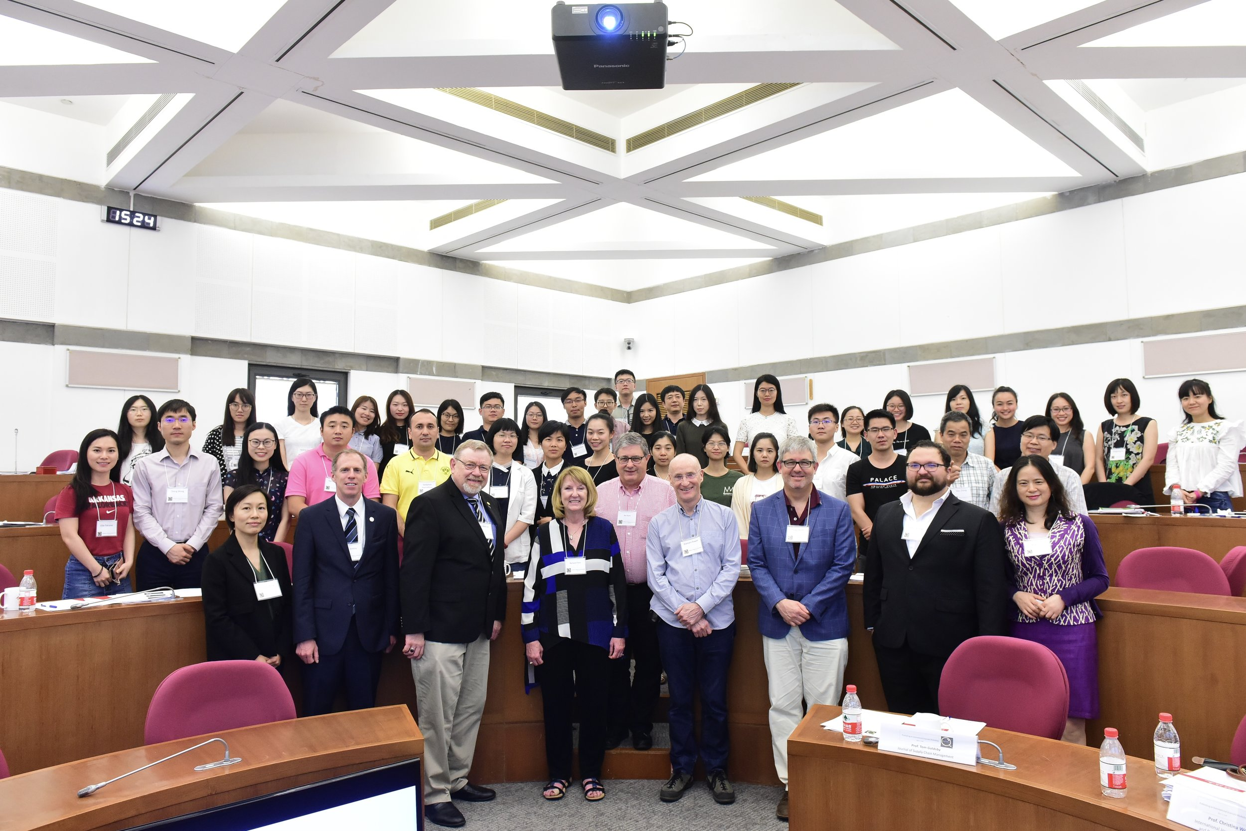 Professor Barbara B. Flynn, Editor in Chief of JSCM along with joint hosts and participants of the Workshop