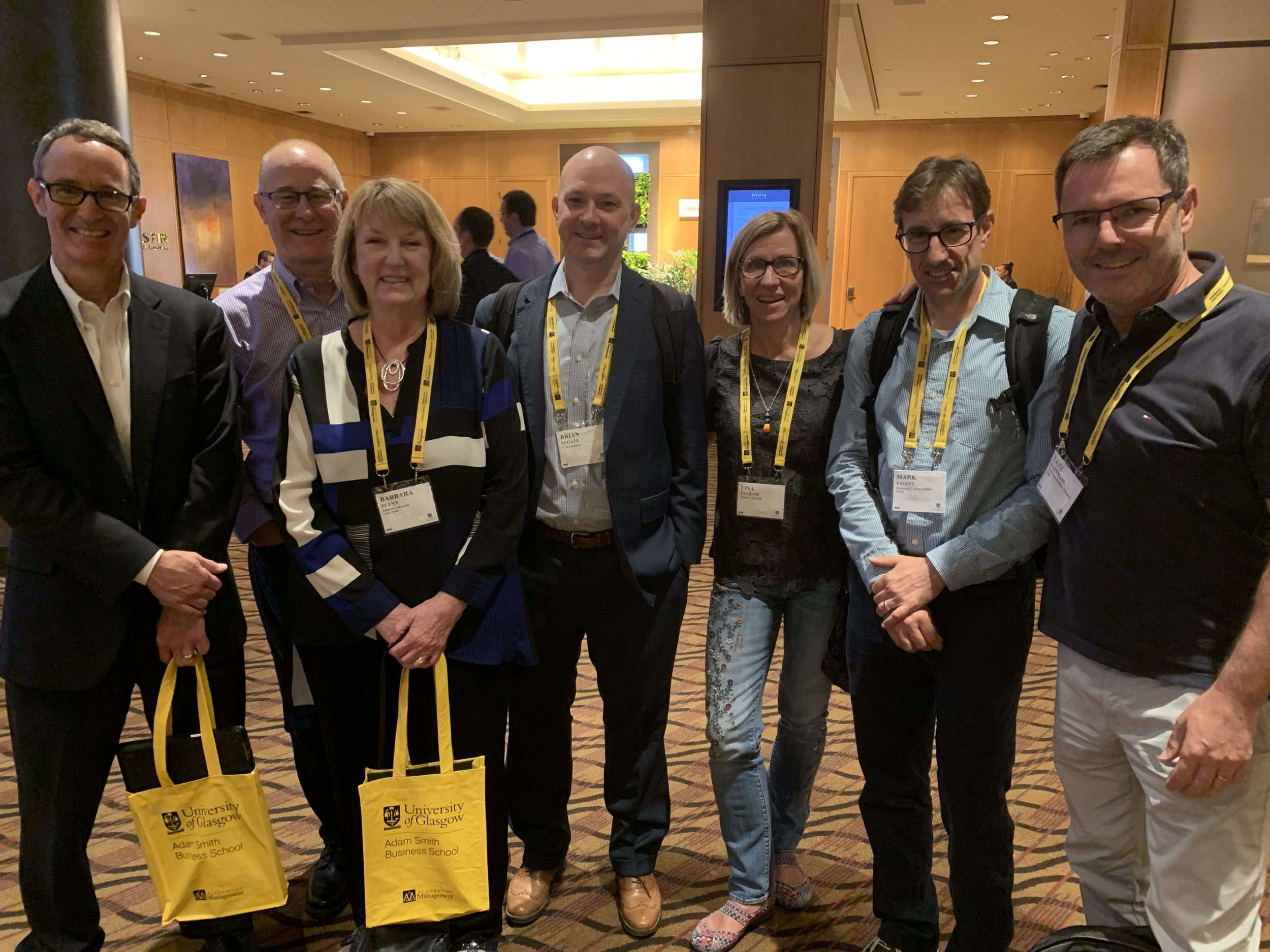 JSCM Editors joined by previous Editors