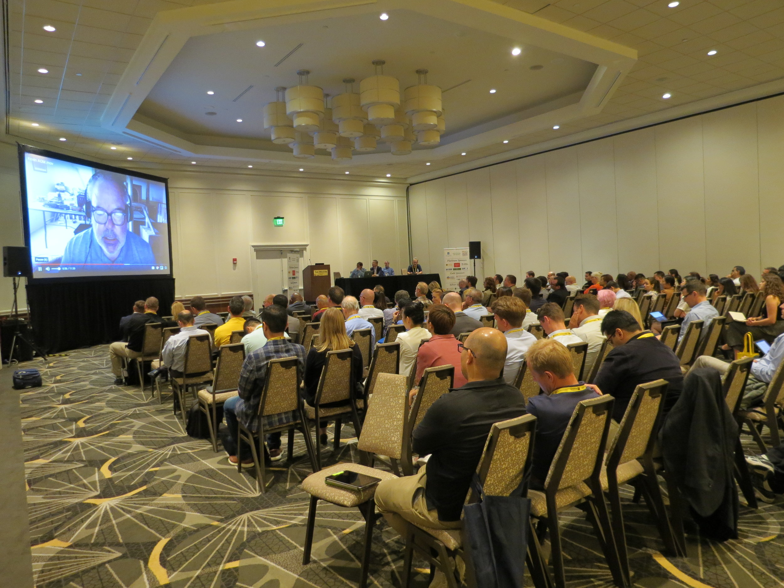 Our PDW audience during Kevin Dooleys presentation.