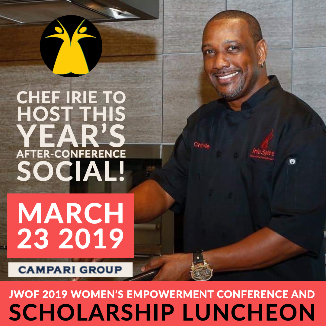 After conference social and signature drink contest to be judged by keynote speaker, Joy Spence and Chef Irie.