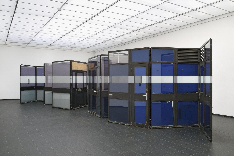Transfolded, 2016, pavillon elements, Kunsthalle Darmstadt