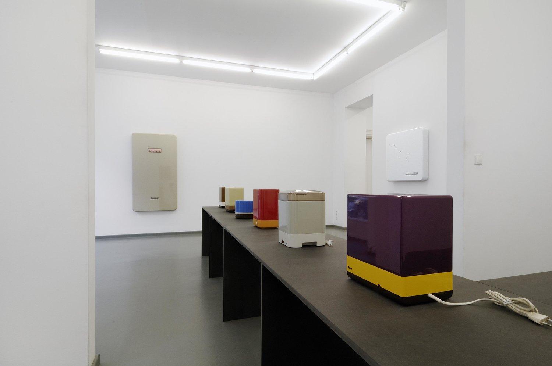 Ausstellungansicht: turbo, 2013, Rasche Ripken, Berlin