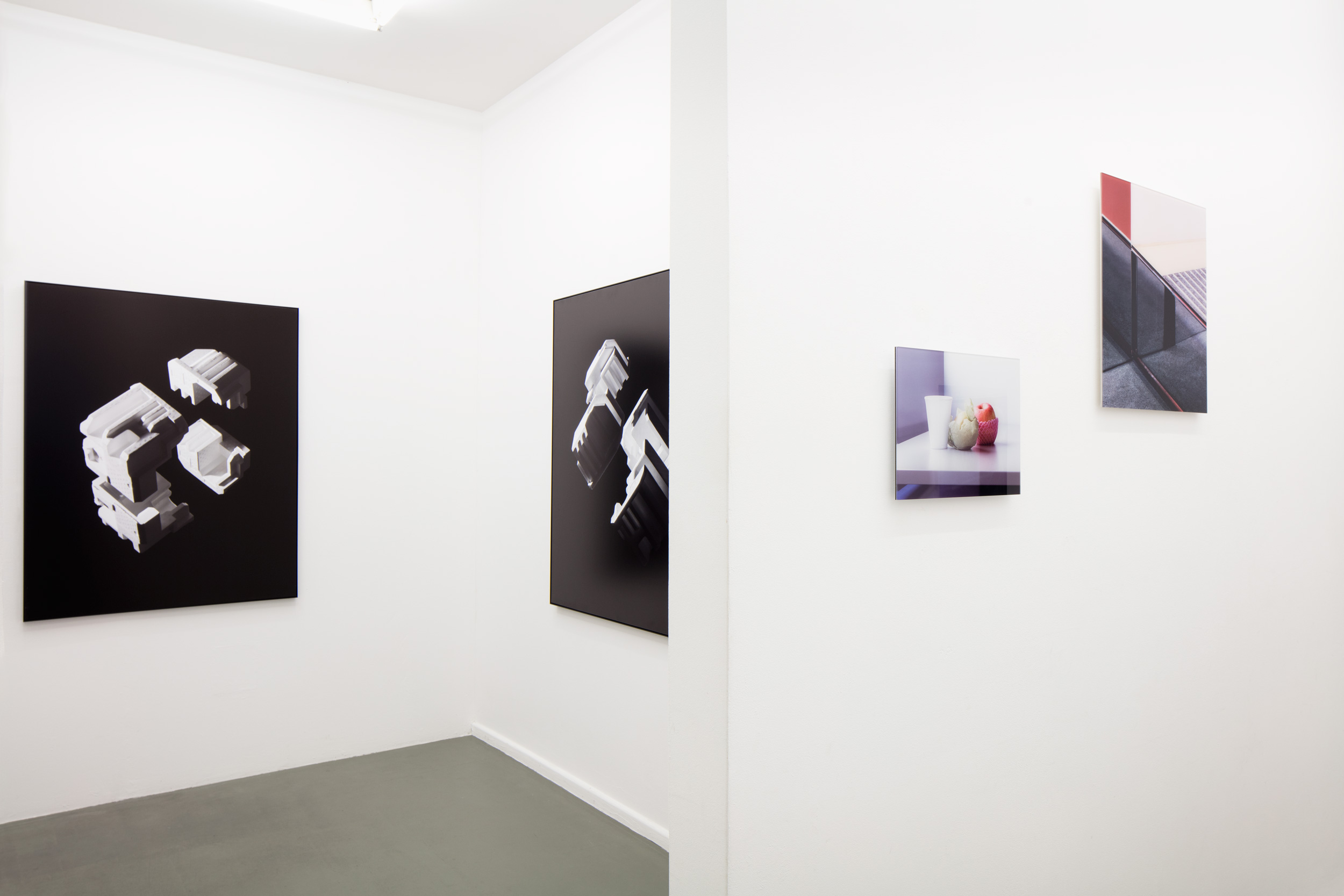 exhibition view EDGES / still under construction, Rasche Ripken, 2018