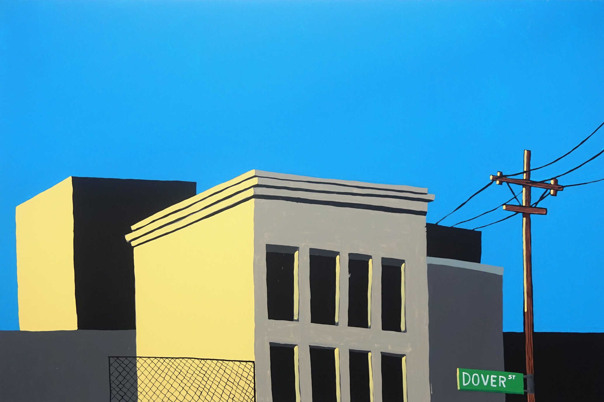 doverstreet, 2017, acrylic on canvas, 200 x 300 cm