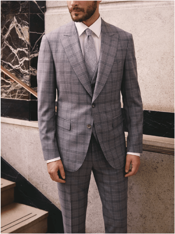 De Oost Bespoke Tailoring Scabal Spring Summer 2018 Collection Silver Ghost 2 Suit Jacket Trousers Fabrics.png