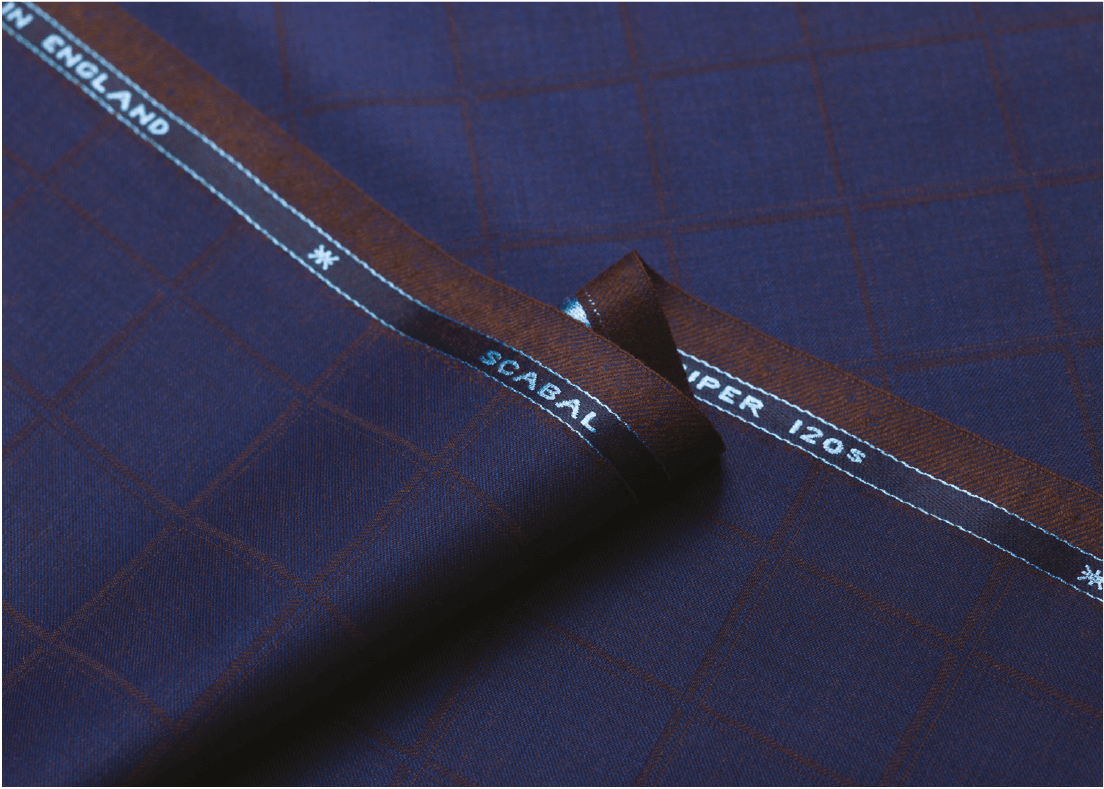 De Oost Bespoke Tailoring Scabal Spring Summer 2018 Collection Golden Ribbon 1 Suit Jacket Trousers Fabrics.png