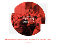Cultural Cities Enquiry