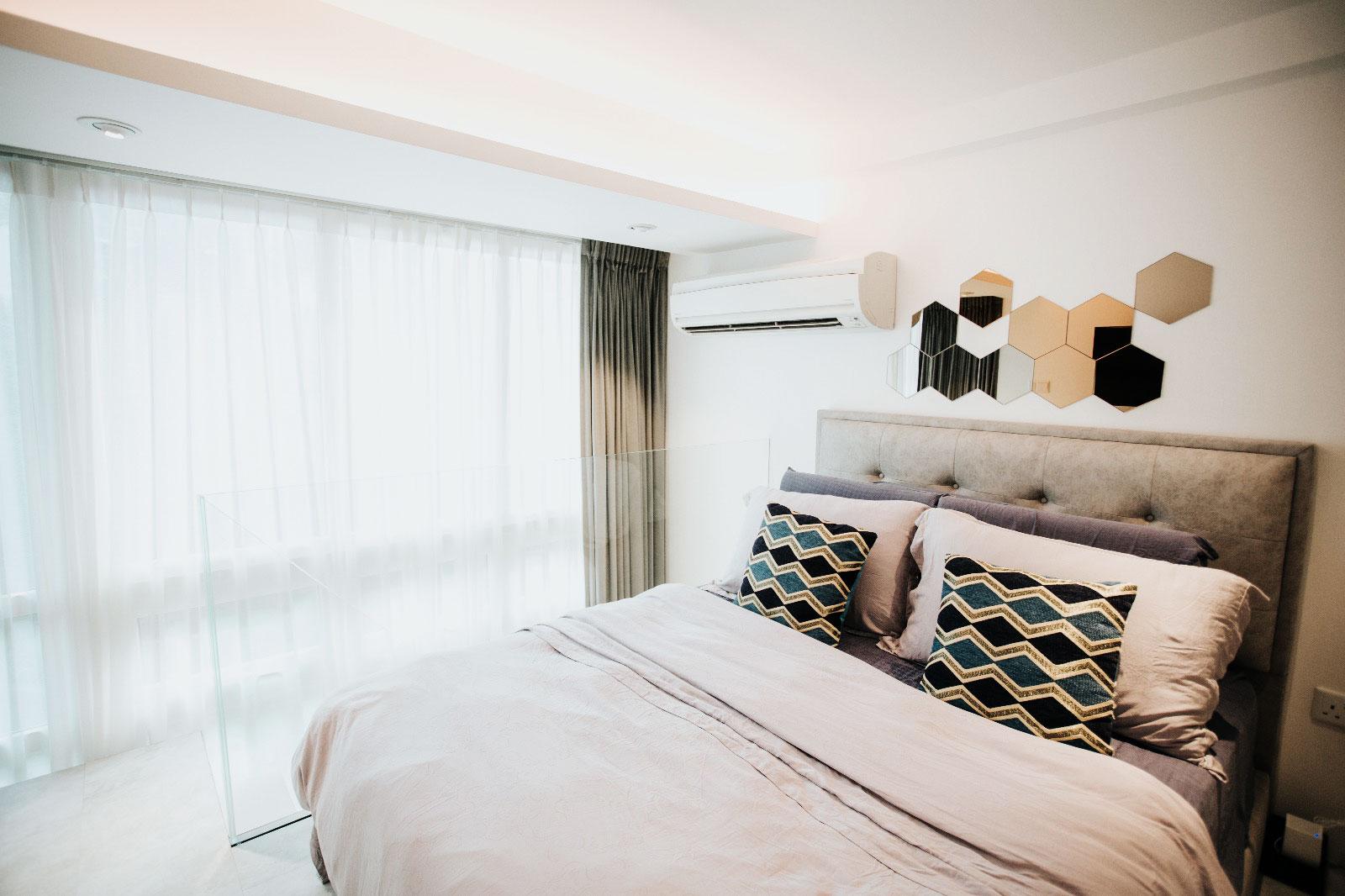 Master bedroom loft.