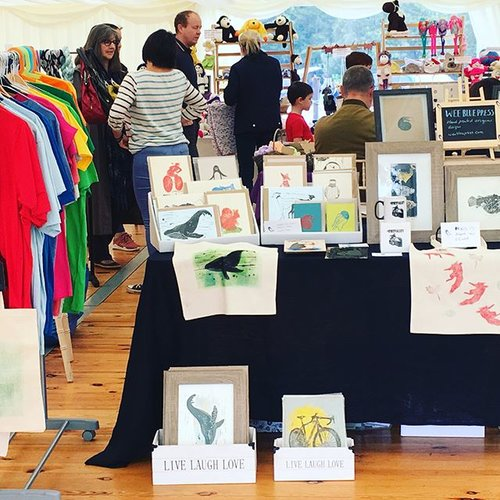 St Abbs Craft Market, Friday 21st September from 10am to 4pm at Ebba Centre in St Abbs.