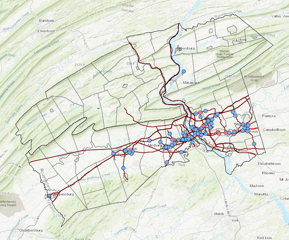 Congestion Management interactive map application