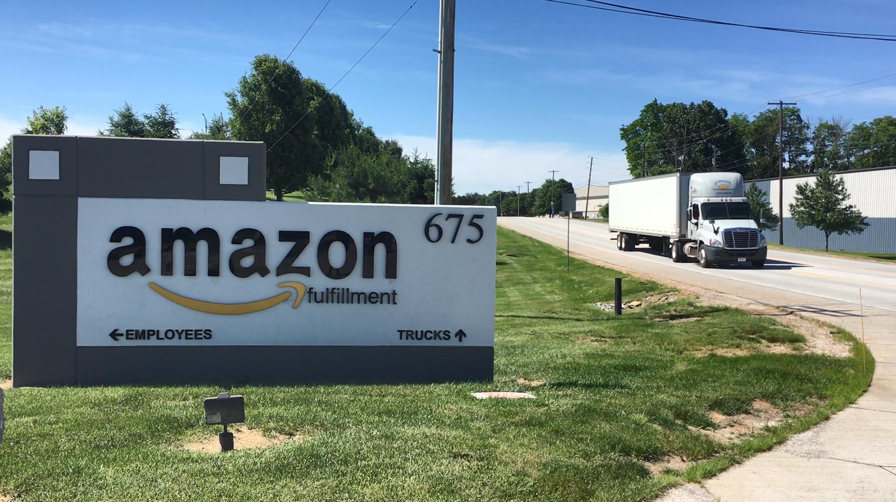 Amazon fulfillment center on Allen Road, Carlisle