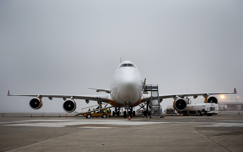 Jet at Harrisburg International Airport (courtesy Michael Baker International)