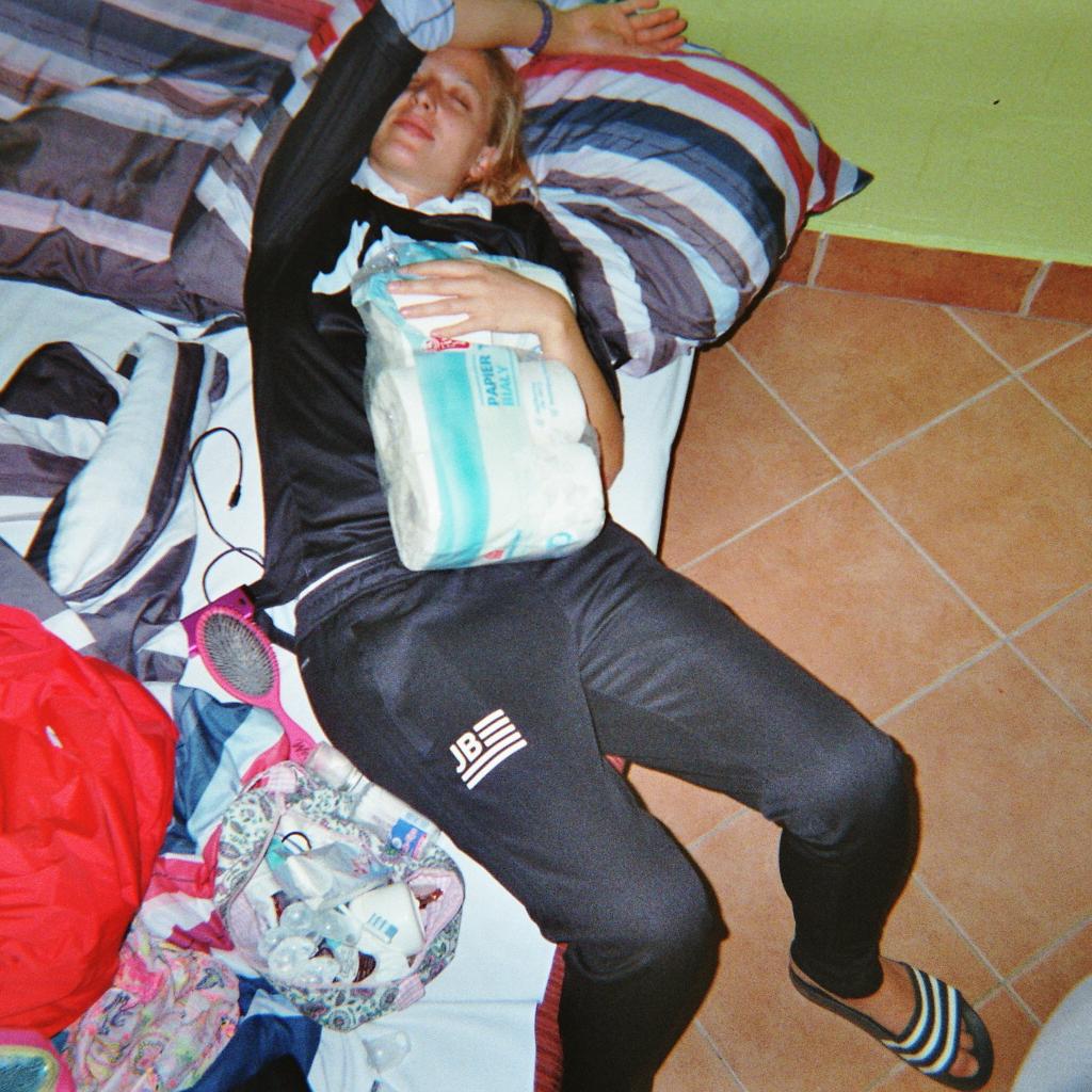 Sleeping! -