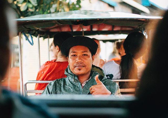 3 of 5 from Cambodia :  Chet, our Tuk Tuk driver. He was the man. We literally had him on speed dial. • • • • #Cambodia #southeastasia #cambodiatrip #igerscambodia #asia #artofvisuals #travel #adventure #goexplore #canon #vsco #vscocam #5dmkiii #thecreatorclass #exploretocreate #picoftheday #lightmob