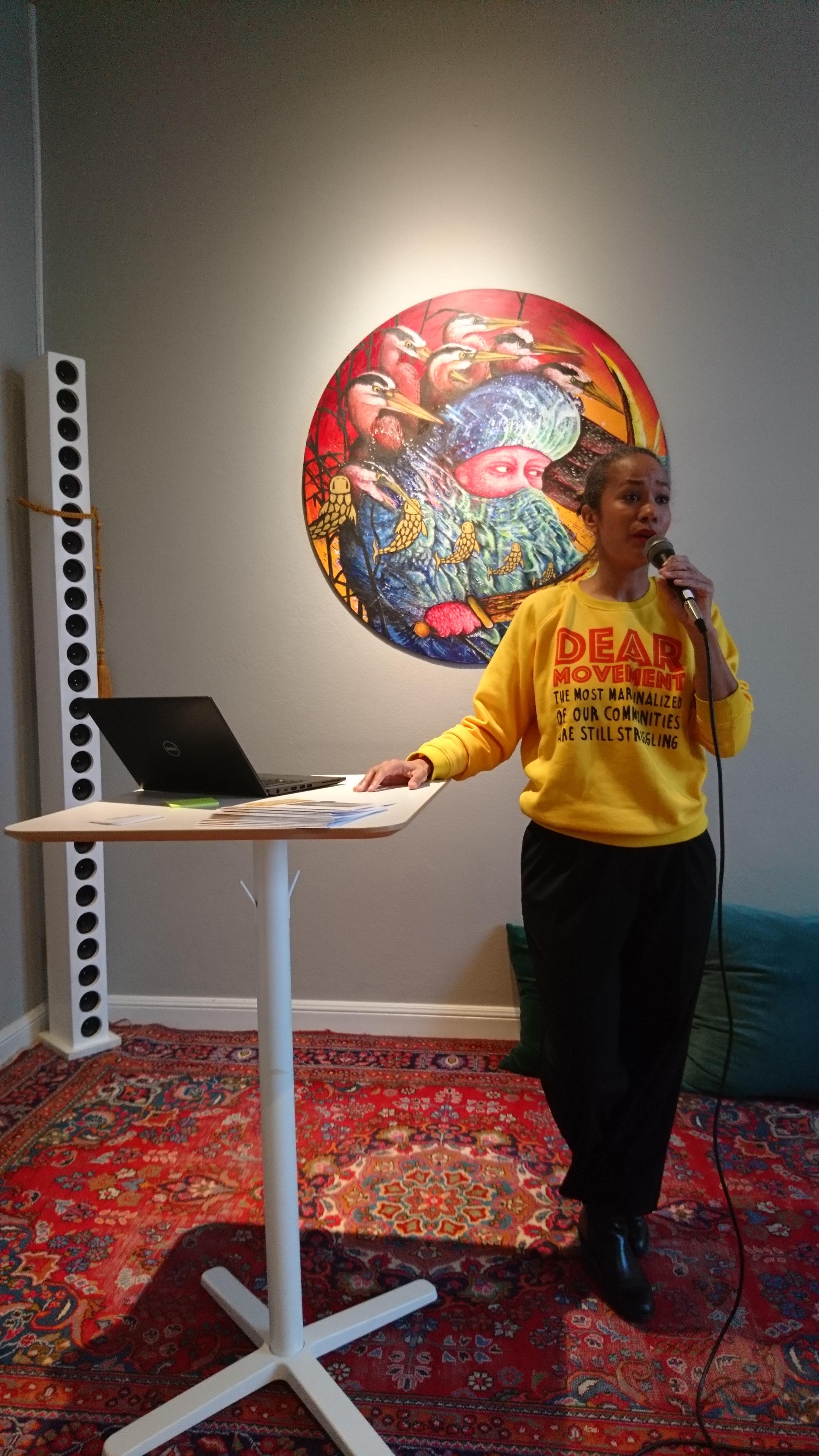 Anna Adeniji, en av våra medverkande.