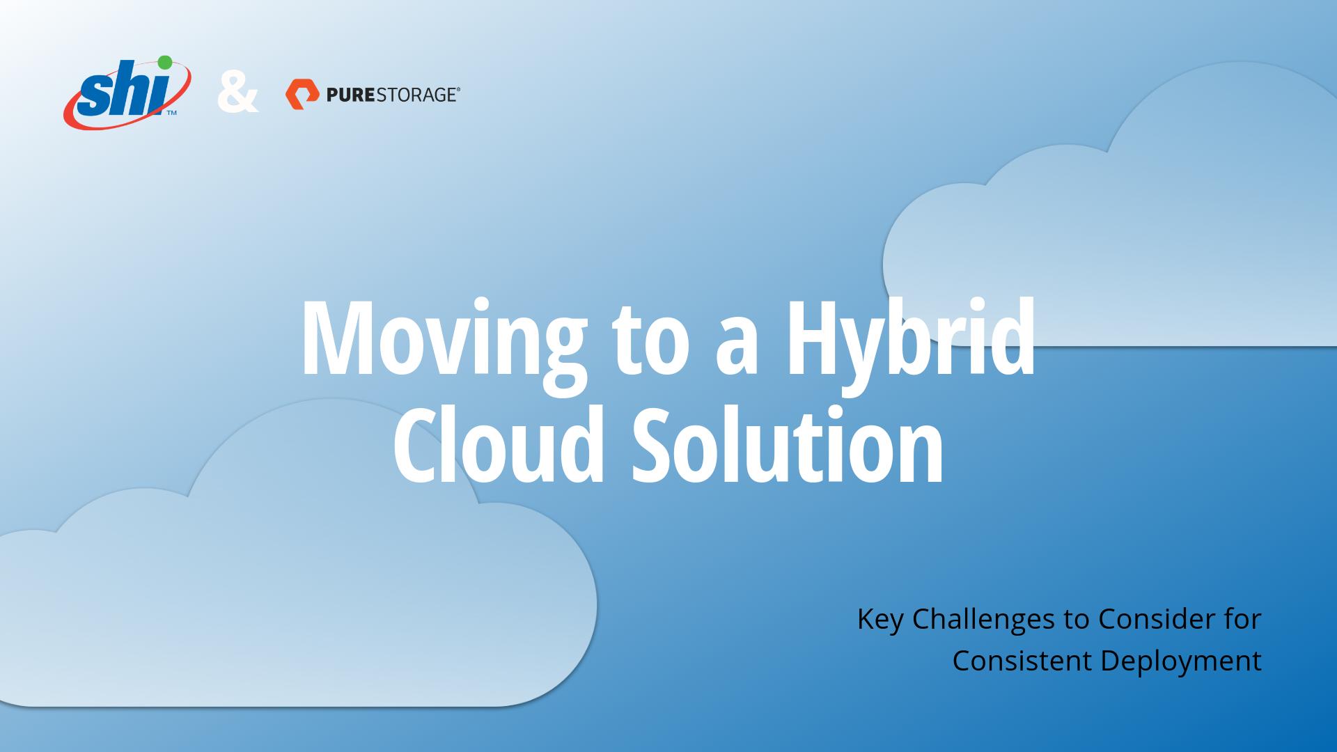 SHI Hybrid Cloud Guide