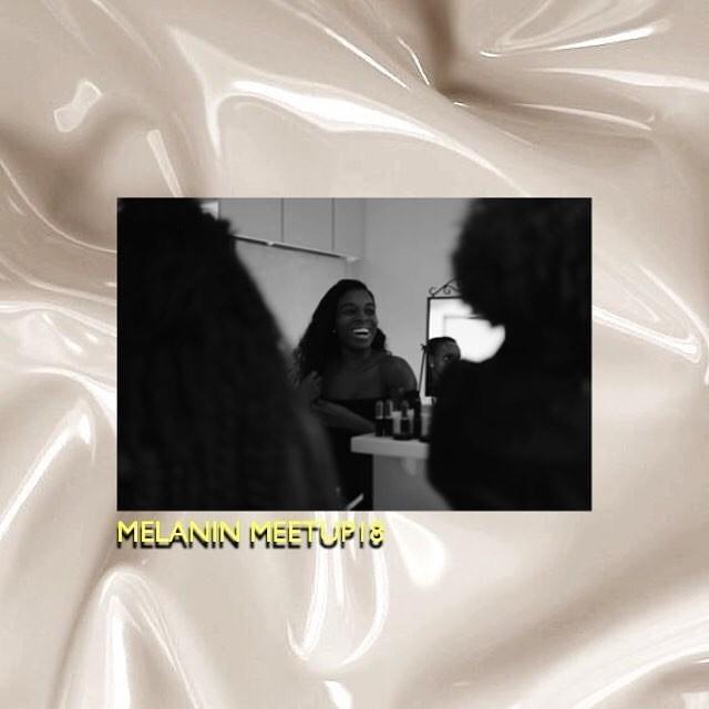 En till inspiration som närvarade på Melanin Meet Up är Ida som driver Mélanique en skönhetsbutik online @melanique.se Genom att bryta sig i en bransch som i många fall glömmer representationen av svarta personer har Ida lyckats tillförse  svarta kvinnor med produkter som passar i hudtoner. Hon kom till eventet med glimten i ögat och var redo att ta emot alla vackra kvinnor. Hon är en sann definition av att skapa en väg för förändring  i nuet och inför framtiden inom skönhet för svarta i Scandinavien.  Stort tack 🙏🏾✨