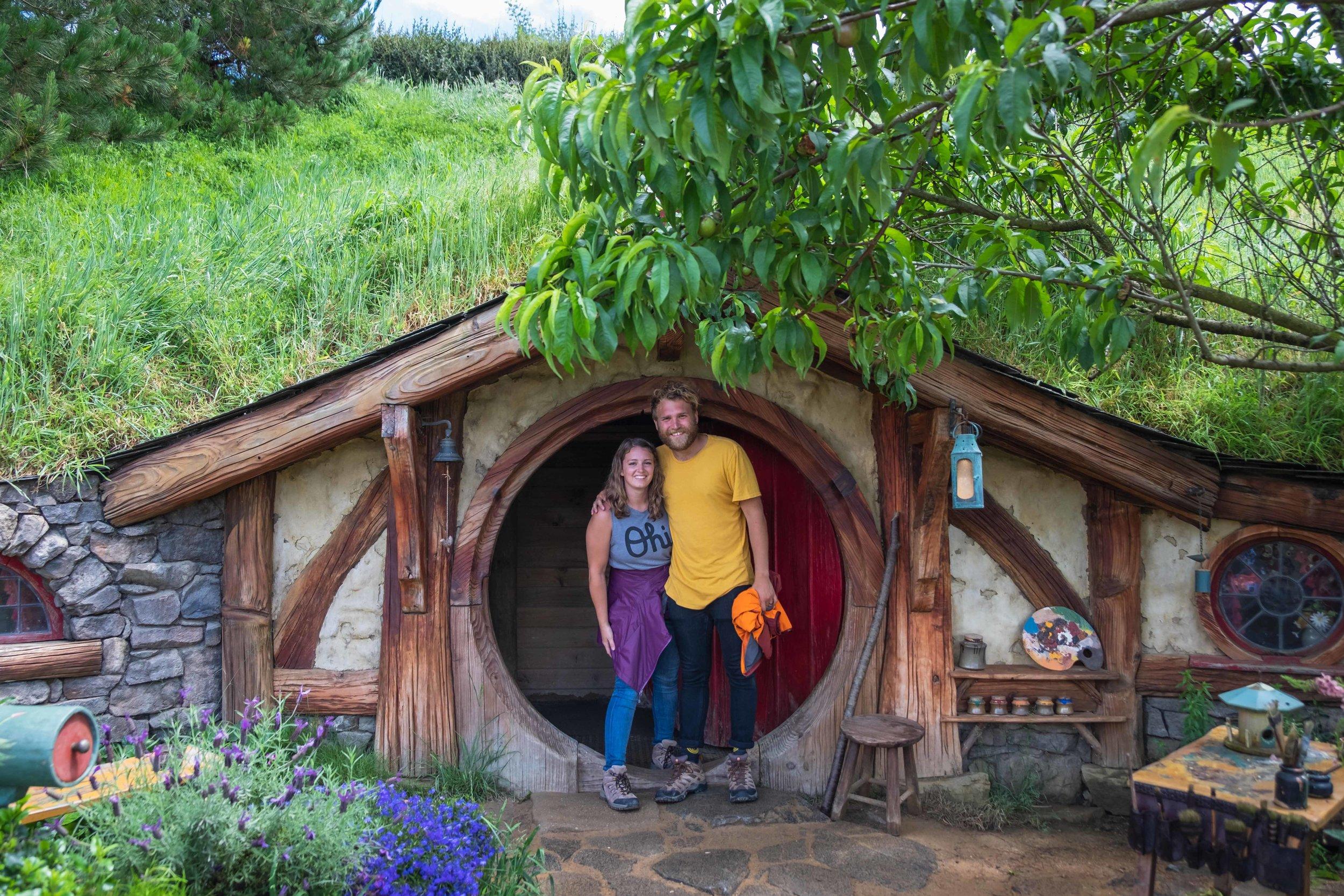 Us in a rando hobbit hole!