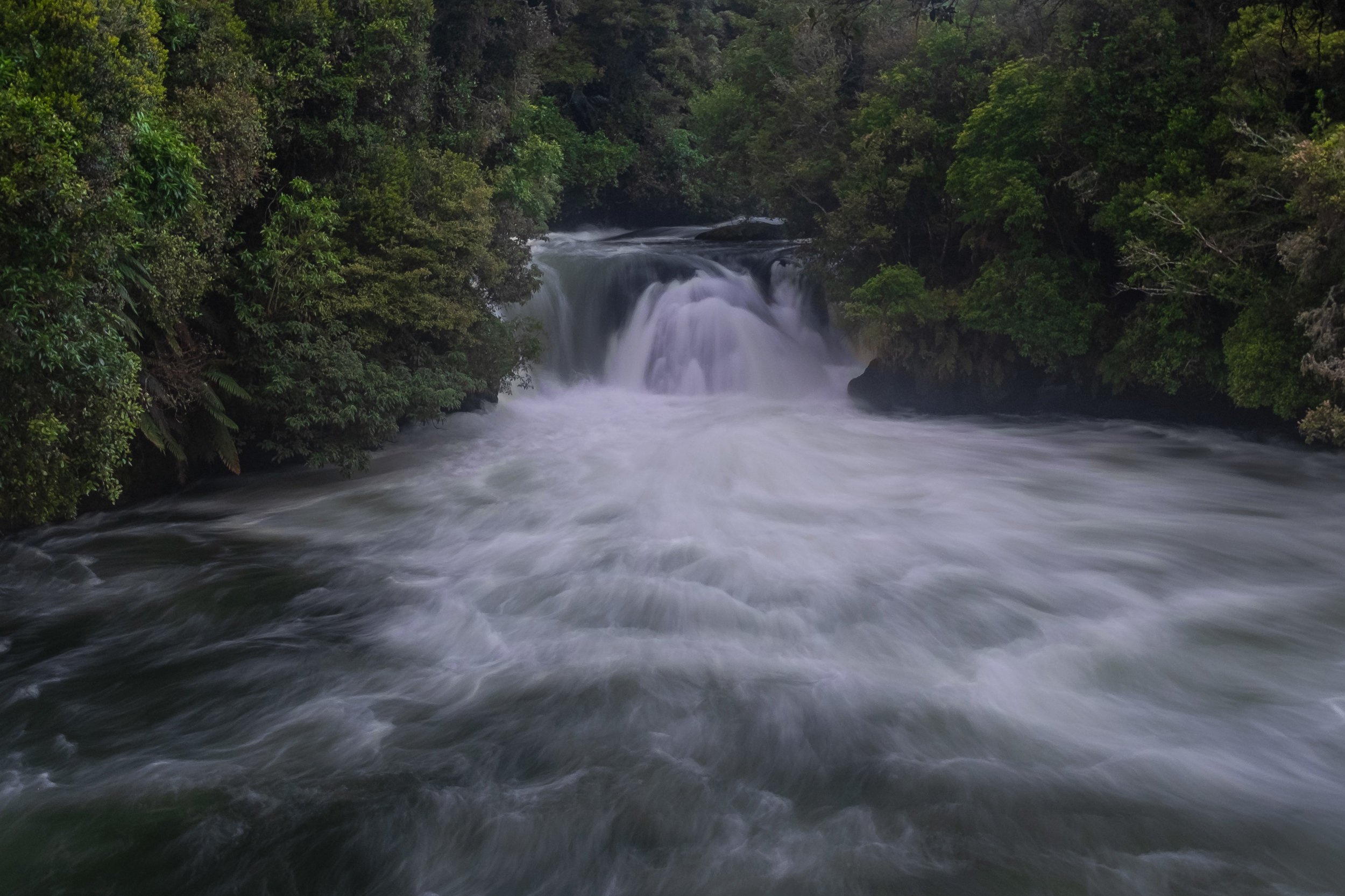 Beautiful falls we could walk to from our free site in Trout Pool Reserve. A lot of rafting happens here!