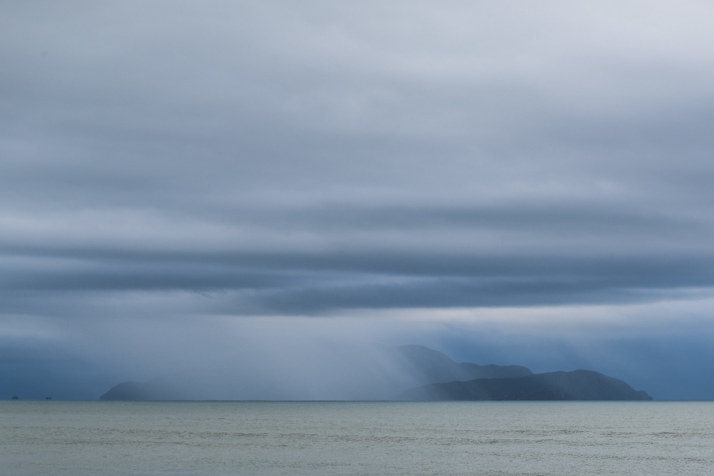 a wall of rain we watched come in from the ocean. (missed us!)
