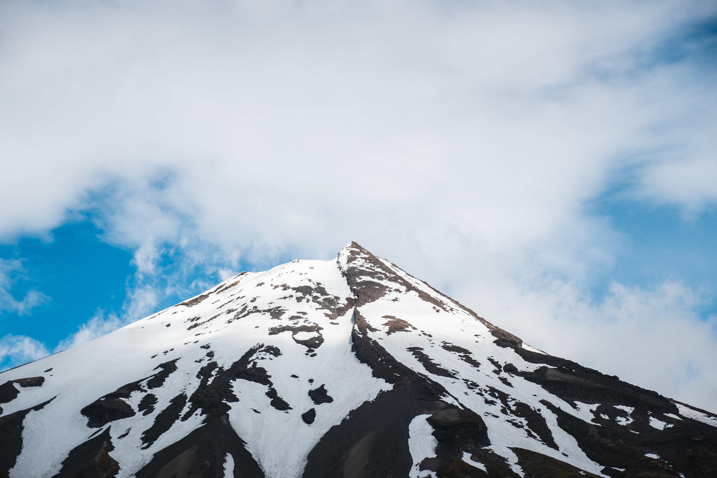 Taranaki's peak