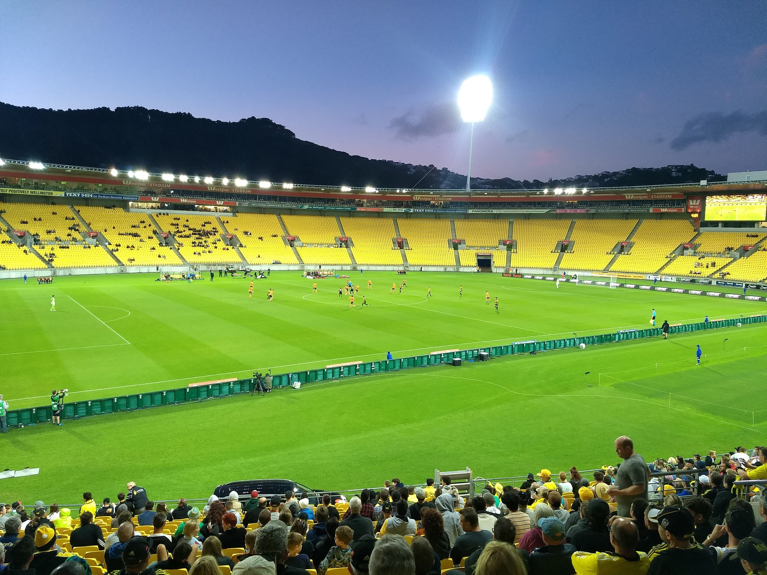 Just like home am-I-right? #GoCrew (actually Wellington Phoenix though..)