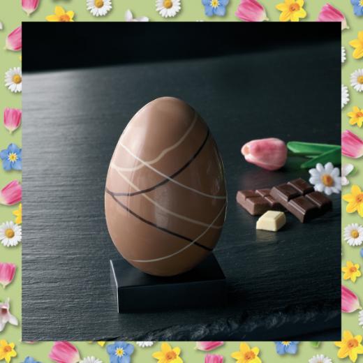 L'oeuf de Pâques - L'incontournable de Pâques : le gros oeuf en chocolat!