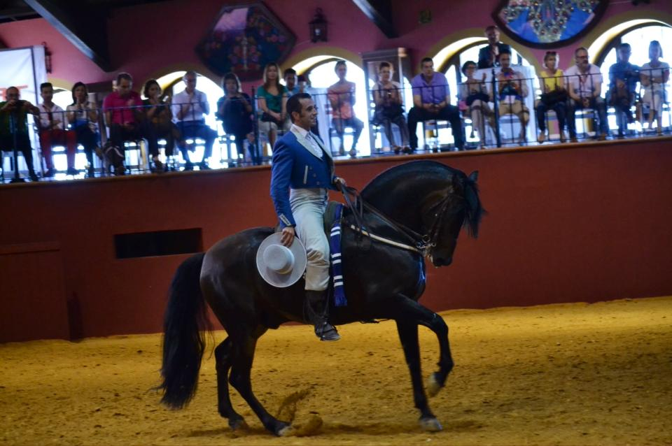 Pedro & Lebrijano Bull ring fuente Rey.jpg